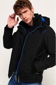 Superdry Mens Jacket Size Chart Superdry Pop Zip Arctic Hooded Sd Windcheater Jacket