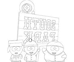 South Park Colouring Sheets Coloring South Park Colouring Pages