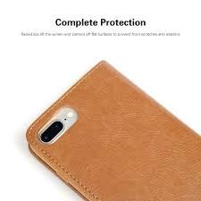 cmar leather folio wallet case iphone 7 8 7 plus 8 plus