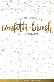 Confetti Brush Photoshop How To Create A Confetti Brush In Illustrator Graphics