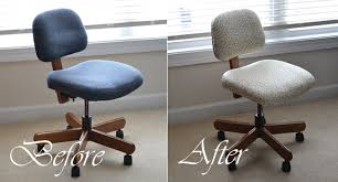 office chair reupholstery. Office Chair Reupholstery With Allison Gryski Tutorial How To  Reupholster An IKEA Desk Office Chair Reupholstery I