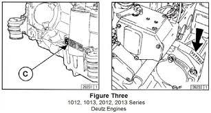 tech tip 199 deutz engine serial number location made easy foley figure three displayed below shows the two serial number locations on deutz 1012 1013 2012 and 2013 engines