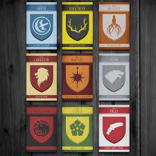 Striking Graphic Posters Of Game Of Thrones House Sigils Imgur Game Of Thrones House Sigils Poster
