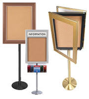 Display Boards Free Standing Poster Stands Sign Stands OutdoorIndoor Message and Directory 8