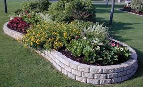 the advantages of using stone landscape edging ortega lawn care