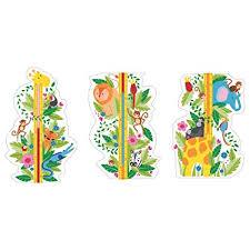 Plantoys Jungle Height Chart Zigzag Trading Ltd Ikea Klatta Decoration Stickers Jungle