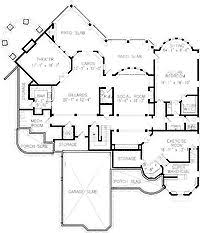 17 best dream home floor plans images on pinterest home plans 5 Bedroom 5 Bathroom House Plans home plans square feet, 5 bedroom 5 bathroom victorian home with 2 garage bays 5 bedroom 5 bathroom house plans with pool