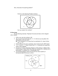 Examples Of Venn Diagram Problems With Answers Grade 7 Learning Materials In Math