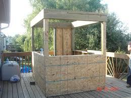 outdoor bar custom design build project modern home tierra este