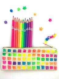 diy pen pencil pouches canvas bags