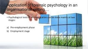 Forensic Psychology Incorporate The Art Gallery Forensic