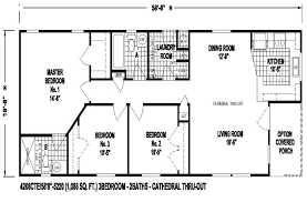 20 wide mobile home floor plans house
