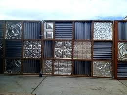 corrugated metal fence cost corrugated metal fence gate metal privacy fence slats metal privacy fence cost