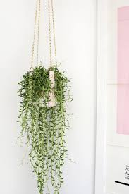 Pink Faux Leather Planter