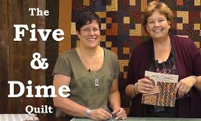 Make the Five & Dime Quilt with Kansas Troubles! - YouTube &  Adamdwight.com