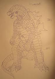 Godzilla Chart Godzilla Size Chart By Scarran Fur Affinity Dot Net