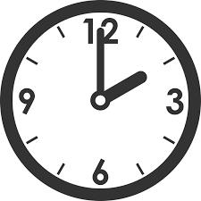 時計時刻のイラスト 無料フリーイラスト素材集frame Illust