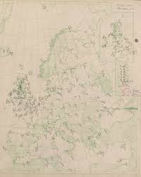 Meteorological Office Synoptic Chart First Day Of The