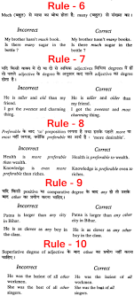 correction of sentences in english