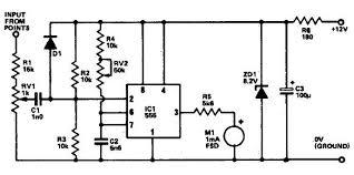 circuit using timer tachometer circuit using 555 timer