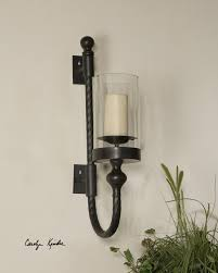interesting glass wall sconce candle holder how to decorate a wall candle sconce modern wall sconces