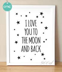 Love Quote Canvas Art Print Painting Poster Wall Pictures For Child Classy Love Quote Canvas