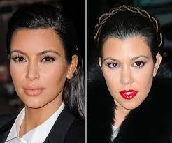 kim v kourtney kardashian beauty battle vote on your fave look