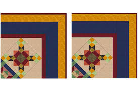 Quick Tips to Help You Sew Mitered Borders to a Quilt & Compare Mitered and Straight Sewn Quilt Borders Adamdwight.com
