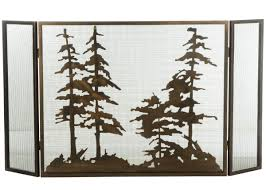fire screens stained glass decorative fireplace screens iron