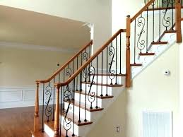stair cost of new staircase railing installation glass stairs contemporary with chandeliers glossy interior kits