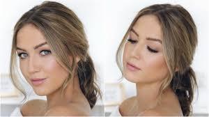 effortless natural bridal makeup shelbey wilson