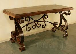 wood and wrought iron furniture. Rustic Wood Iron Furniture - Buscar Con Google And Wrought A