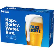 Bud Light Living Room Bud Light Beer 24 Pack 12 Fl Oz Cans Walmart Com