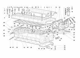 lamborghini murcielago roadster > engine order online eurospares lamborghini murcielago roadster right cylinder head diagram