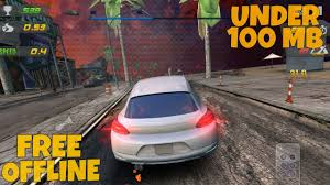 top 5 high graphics android racing games under 100 mb