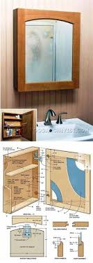 free woodworking plans bathroom cabinet. classic medicine cabinet plans - furniture and projects woodwork, woodworking, woodworking plans, free bathroom