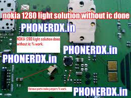 Nokia 1280 Light Ic Jumper Nokia 1280 Display Twoj Doktor