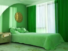 interesting interior design with green interior wall paint good looking green bedroom decoration using large