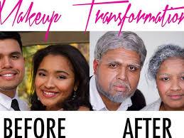 couples get older makeover
