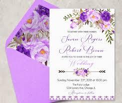 16 Purple Invitation Templates Psd Ai Free Premium