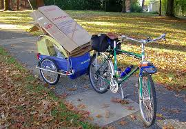 how to carry cargo on a bicycle