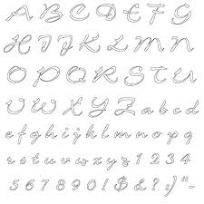 Printable Letter Templates Printable Stencils Letters Of The Alphabet Download Them Or Print