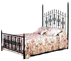 Wrought Iron Bed Frame King Wrought Iron Bed Frame Antique Full Size ...