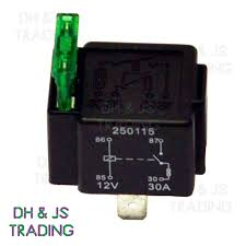 12v relay 12v relay 4 pin automotive 30amp 30a normally open contact fused ry28 30a fuse