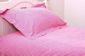 red gingham duvet cover pink gingham duvet cover set blue gingham cot bed duvet cover