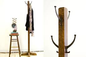 Vintage Coat Racks Wall Mounted Interesting Wood Coat Rack Old Fashioned Antique Wooden Coat Rack Antique Wooden
