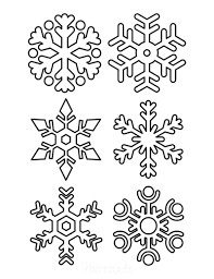 Like the rest snowflakes, the special thing about this design from makezine isn't actually the patterns these particular flakes are made out of junk mail, putting the bright colours in the ads to use but using cut out designs to overshadow the fact that those colours. 101 Best Snowflake Coloring Pages Free Printable Pdf Templates