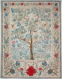 olivia tree of life iv large tapestry