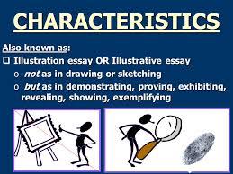 example essay ppt  example essay 2 characteristics