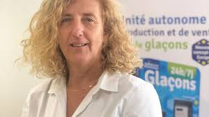 Michèle ROSSI, distributeur de glaçons KIOSKICE à Ajaccio